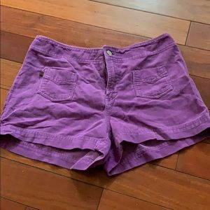 Ralph Lauren purple shorts size 6
